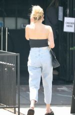 ASHLEY BENSON Out for Coffee in Los Angeles 05/03/2021