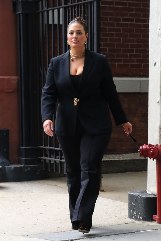 ASHLEY GRAHAM at CBS Offices in New York 05/25/2021
