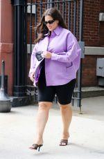 ASHLEY GRAHAM Leaves CBS Studios in New York 05/24/2021