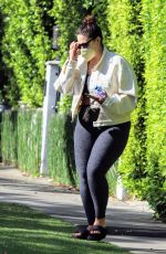 ASHLEY GRAHAM Leaves Pilates Class in West Hollywood 05/03/2021