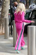 ASHLEY ROBERTS All in Pink at Heart Radio in London 05/06/2021