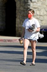 ASHLEY TISDALE Out for Coffee in Los Angeles - 5/15/21