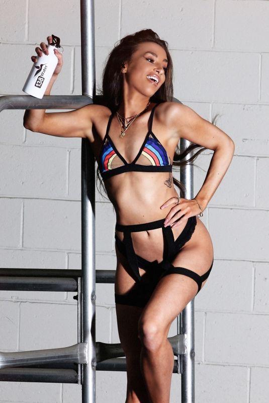 AUBREY EVANS in Bikini for 138 Water Photoshoot in Beverly Hills 05/05/2021