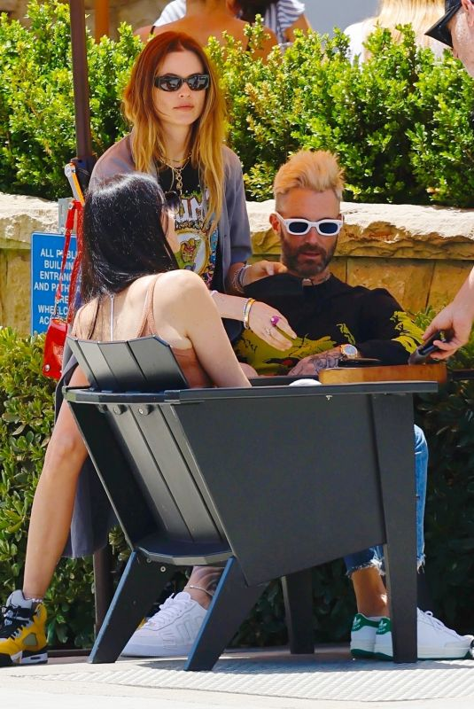 BEHATI PRINSLOO and Adam Levine Out in Montecino 05/04/2021