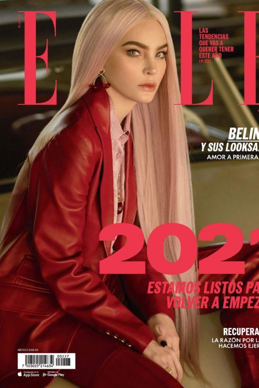 BELINDA in Elle Magazine, Mexico January 2021