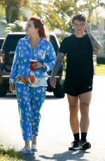 BELLA THORNE Out in Miami 05/08/2021