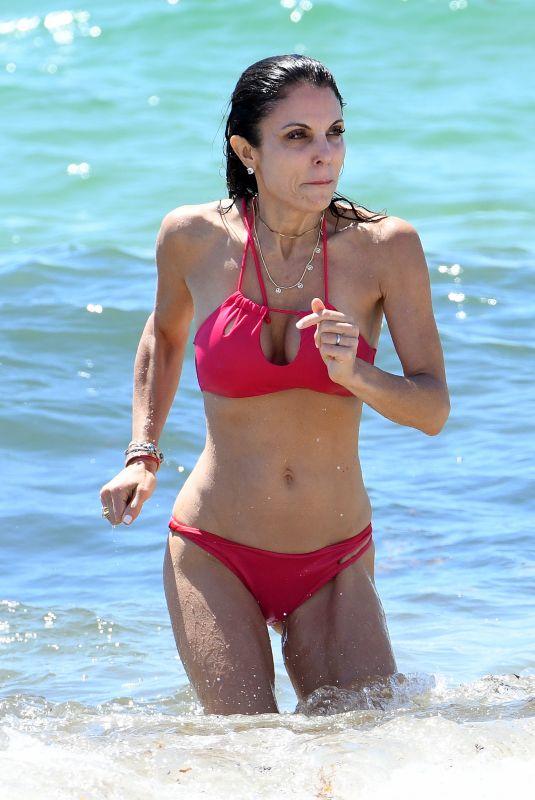 BETHENNY FRANKEL in Bikini at a Beach in Miami 05/29/2021
