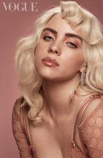 BILLIE EILISH in Vogue Magazine, UK June 2021