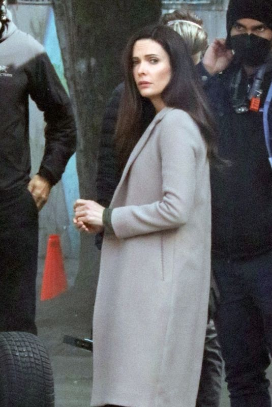 BITSIE TULLOCH on the Set of Superman in Vancouver 05/04/2021