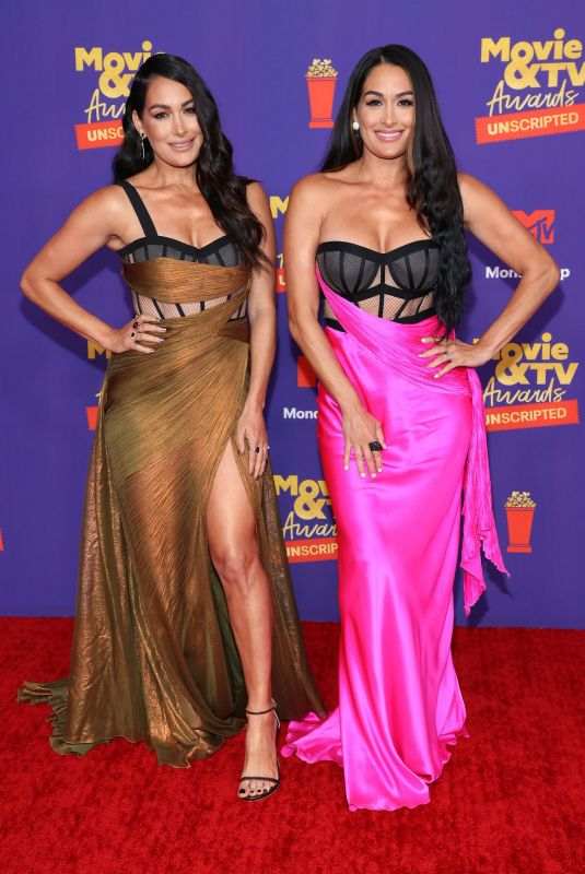 BRIE and NIKKI BELLA at 2021 MTV Movie Awards in Los Angeles 05/16/2021