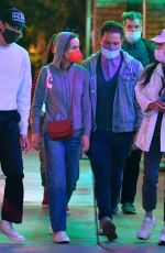 BRIE LARSON Out with Friends at Disneyland in Anaheim 05/19/2021