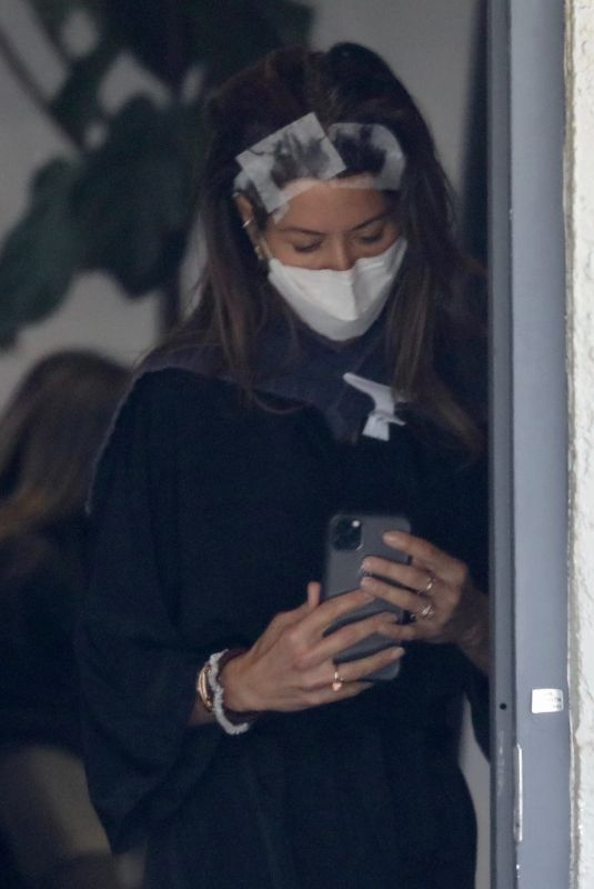 BROOKE BURKE Out and About in Los Angeles 05/13/2021