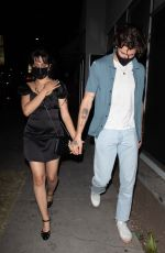CAMILA CABELLO and Shawn Mendes at Nice Guy in Los Angeles 05/07/2021