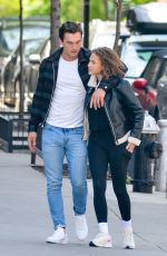 CAMILA KENDRA and Tyler Cameron Out Kissing in New York 05/06/2021