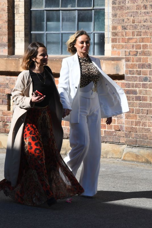 CAMILLA FRANKS and MICHELLE BRIDGES at Sydney Fashion Week at Carriageworks 05/31/2021