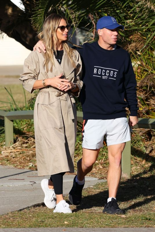 CANDICE and David WARNER Out in Maroubra 05/30/2021
