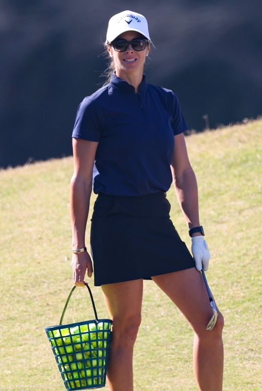 CANDICE WARNER at a Golf Course in Sydney 05/03/2021