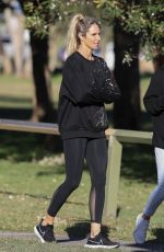 CANDICE WARNER Out and About in Sydney 05/17/2021