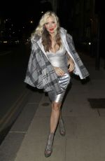 CAPRICE BOURRET Night Out in London 05/12/2021