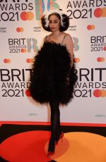CELESTE at 2021 Brit Awards in London 05/11/2021