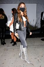 CHANTEL JEFFRIES at Bootsy Bellows Grand Opening in West Hollywood 05/07/2021