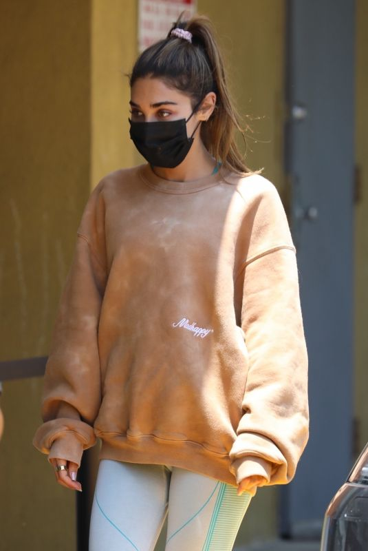 CHANTEL JEFFRIES Out and About in Los Angeles 05/28/2021