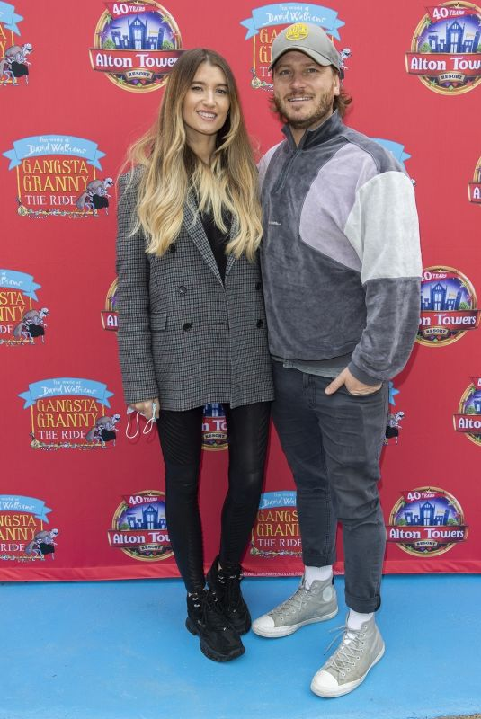CHARLEY WEBB at Alton Towers Launch Event of Gangsta Granny: The Ride 05/22/2021