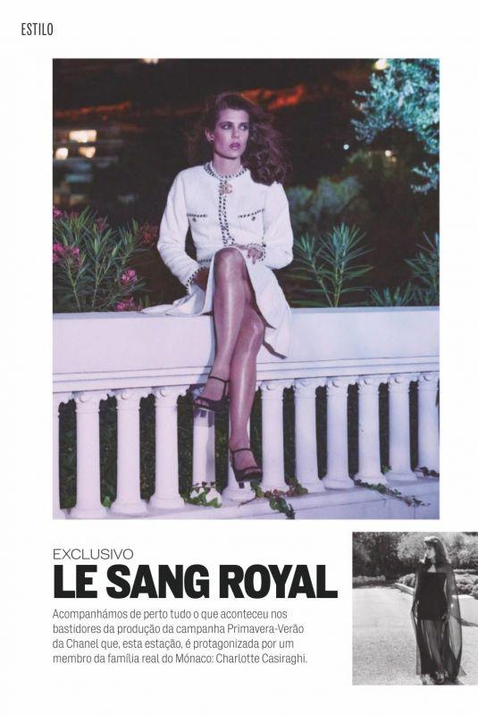 CHARLOTTE CARDIN in Elle Magazine, Portugal March 2021