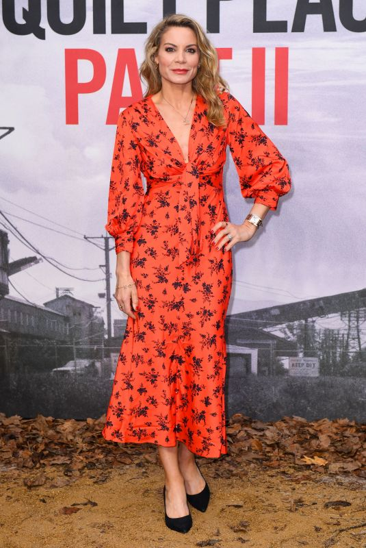 CHARLOTTE COLEMAN at A Quiet Place, Part 2 Screening in London 05/20/2021