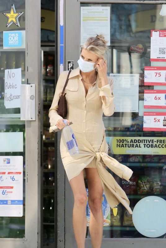 CHARLOTTE MCKINNEY Out in Los Angeles 05/04/2021
