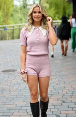 CHLOE MEADOWS on the Set of The Only Way is Essex in Chelmsford 05/11/2021