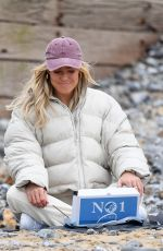 CHLOE MEADOWS on the Set of The Only Way is Essex in Cromer 05/01/2021