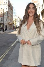 CHLOE ROSS Arrives at Toy Roof Bar in London 05/16/2021