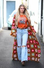 CHLOE SIMS on the Set of The Only Way is Essex 05/15/2021