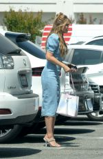 CHRISHELL STAUSE Leaves Her Office in Los Angeles 05/07/2021