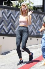CHRISHELL STAUSE Out for a Lunch in Beverly Hills 05/03/2021