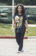 CHRISTINA MILIAN at Mercedes Dealership in Los Angeles 05/15/2021