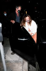 CINDY CRAWFORD Leaves Giorgio Baldi in Santa Monica 05/15/2021