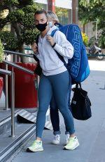 CLARA BUREL Arrives at Her Hotel After Training at Roland Garros 05/29/2021