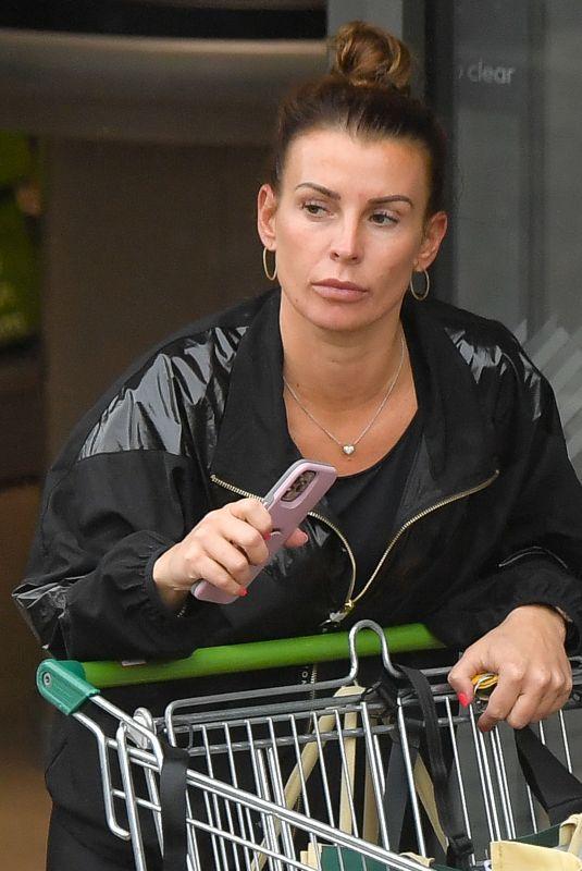 COLEEN ROONEY Shopping at Her Local Market in Alderley Edge 05/24/2021