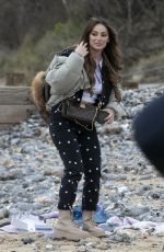 COURTNEY GREEN on the Set of The Only Way is Essex in Cromer 05/01/2021