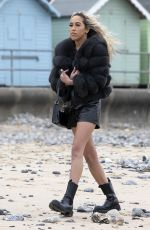 DANI IMBERT on the Set of The Only Way is Essex in Cromer 05/01/2021