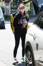 DANIELLE ROSE COLLINS Arrives at Her Hotel After Training at Roland Garros 05/29/2021