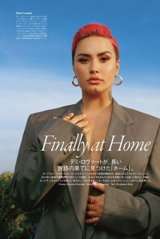 DEMI LOVATO for Vogue Magazine, Japan June 2021