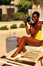 DIARRA SYLLA in Bikini at a Pool in Palm Springs 05/11/2021
