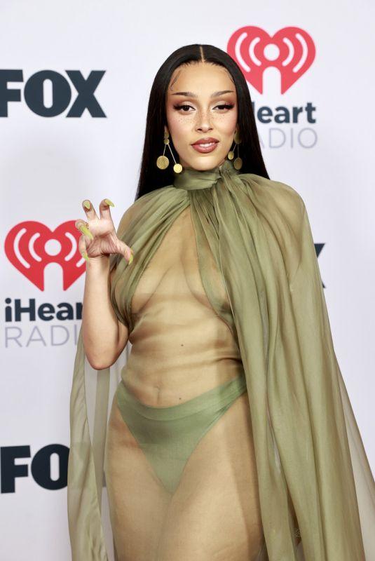 DOJA CAT at 2021 Iheartradio Music Awards in Los Angeles 05/27/2021