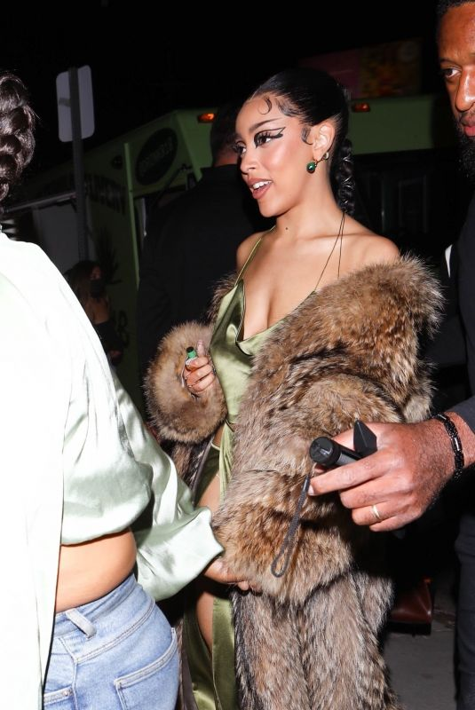 DOJA CAT at Kendall Jenner's 818 Tequila Launch Party at Nice Guy in West Hollywood 05/21/2021