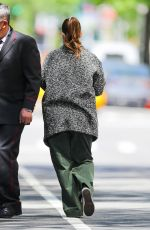 DREW BARRYMORE Out with Her Dog in New York 05/17/2021