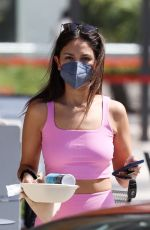 EIZA GONZALEZ Out for Lunch After Workout in West Hollywood 05/12/2021