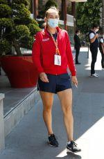 ELENA VESNINA Arrives at Her Hotel After Training at Roland Garros 05/29/2021